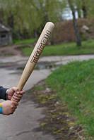 Бита бейсбольная для самообороны 80 см с надписью