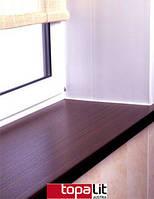 Подоконник Topalit пластиково-деревянный 100мм