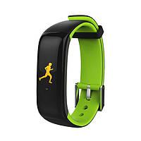 Фитнес трекер Lemfo P1 (Черно-зеленый), фото 1