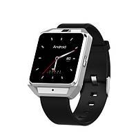 Розумні годинник Smart Watch Lemfo M5 підтримка 4G wi-fi на Android 6.0 (Сріблястий), фото 1