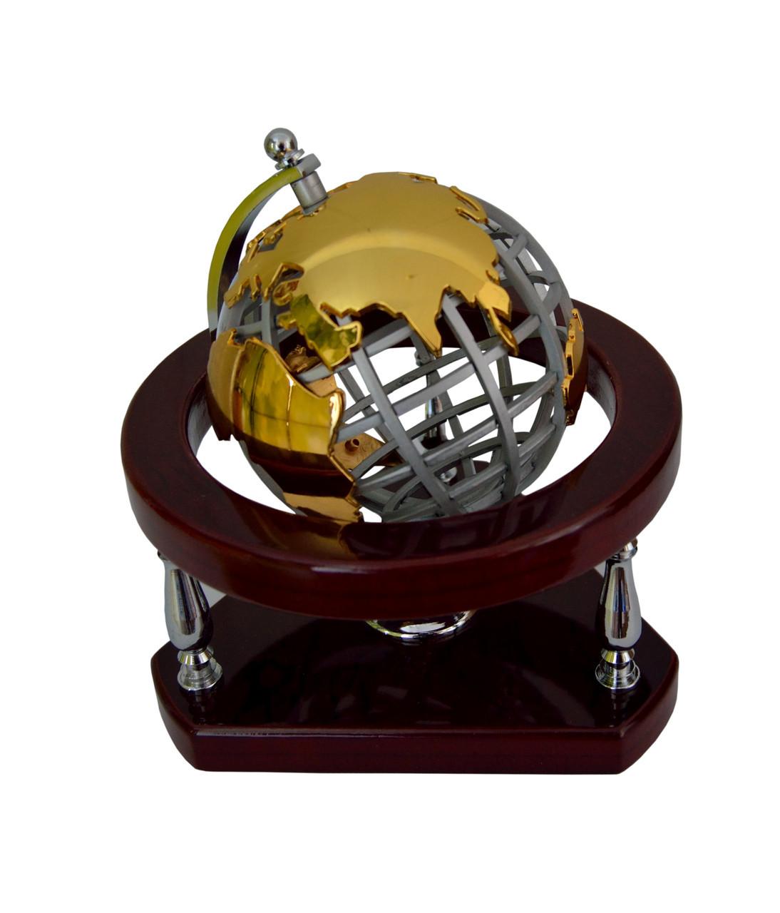 Офисный аксессуар, глобус настольный, подарок мужчине, 15112