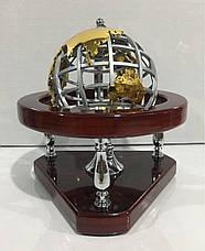 Офисный аксессуар, глобус настольный, подарок мужчине, 15112, фото 2