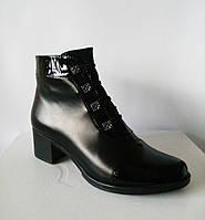 Кожаные стильные ботинки. Опт., фото 1