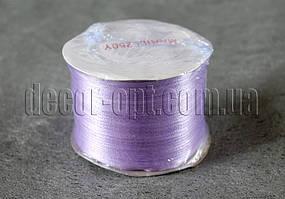 Лента атласная сиреневая 0,3 см 250 ярд 21