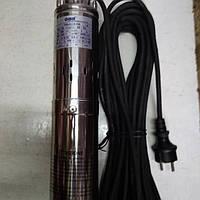 Погружной насос 100 метров подъем 1500 литров в час  с нержавейки центробежный