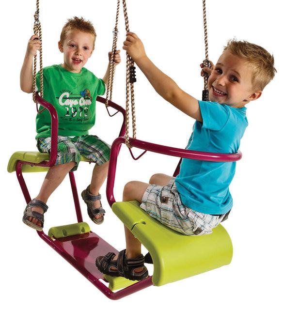 Качели детские подвесные «Фло» двойные KBT Бельгия качеля для детей