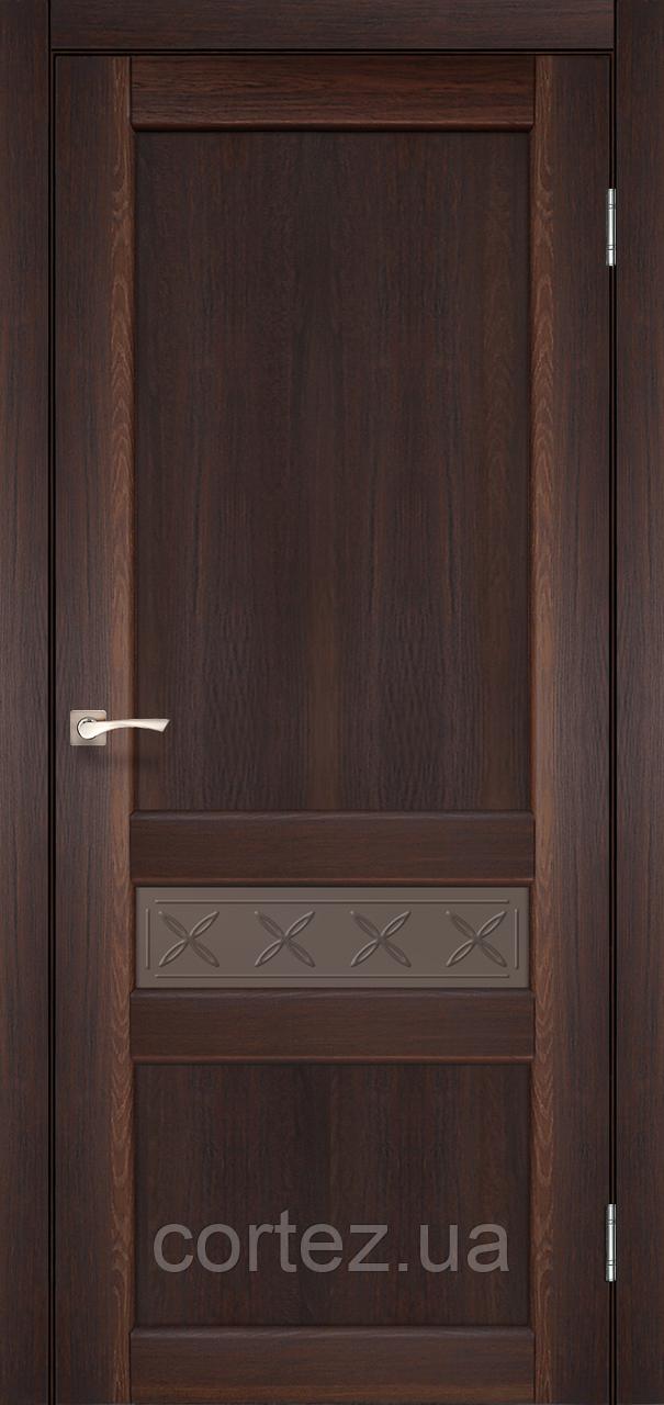 Межкомнатные двери экошпон Модель CL-06 без штапика