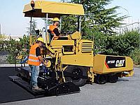 Аренда минипогрузчиков BobCat с навесным (фреза, ковш, вилы), аренда асфальтоукладчика, котка дорожного JCB.