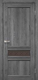 Межкомнатные двери экошпон Модель CL-07 со штапиком