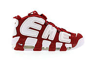 Кроссовки Nike Air More Uptempo Red White , фото 1
