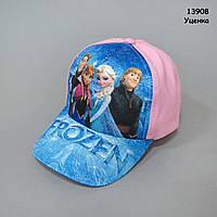 Кепка Frozen для девочки. 50-53 см, фото 1