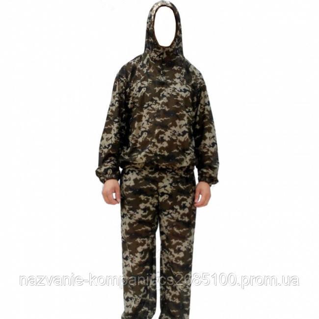 Сеточный антимоскитный маскировочный костюм (Пиксель)