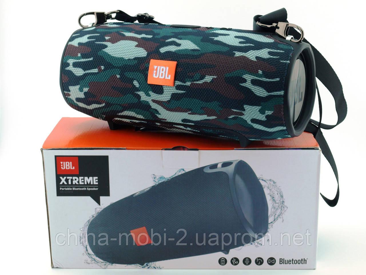 JBL Xtreme 540 40W Squad копія, портативна колонка з Bluetooth FM MP3, камуфляжна