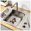 ГРУНДВАТТНЕТ Кухонный коврик, серый, 26x32 см 10314284 IKEA, ИКЕА, GRUNDVATTNET - Фото