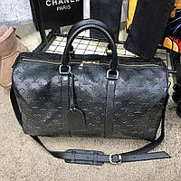 Сумка Softsided Luggage Louis Vuitton Keepall Monogram Black