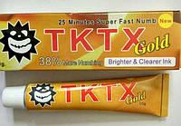 Крем анестетик TKTX Gold 38% 10гр. Лидокаин 5%, Прилокаин 5%, Эпинефрин 1%