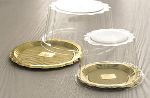 Упаковка для тортів Alcas  MEDORO діаметр 22, 24, 26, 28 см , фото 2