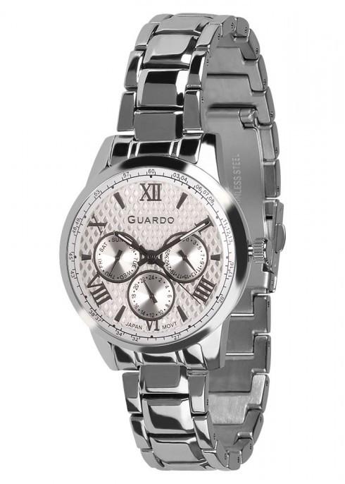 Часы Guardo PREMIUM 11466(m) SW  браслет кварц.