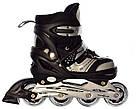 Роликовые коньки Profi Roller A 12100 раздвижные, разные цвета, фото 3