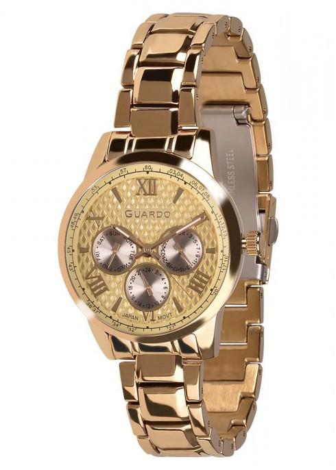 Часы Guardo PREMIUM 11466(m) GG  браслет кварц.