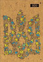 """Блокнот """"Еко"""" А4: Герб (80 аркушів, клітинка)"""