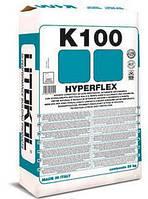 Hyperflex K100 - серый цементный клей с высокой деформационной способностью
