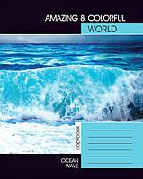 "Блокнот для нотаток А5 ""Океанська хвиля"""