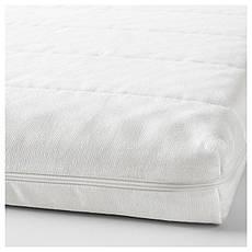 МОСХУЛЬТ Пенополиуретановый матрас, жесткий/белый, 90x200 см 30272339 IKEA, ИКЕА, MOSHULT, фото 3