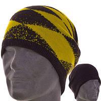 Молодежная двухсторонняя шапка-чулок