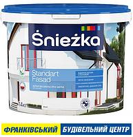 ФАРБА ŚNIEŻKA STANDART FASAD 20 кг