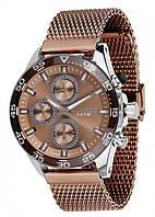 Часы Guardo PREMIUM 11458(m) SBr  браслет V  кварц.