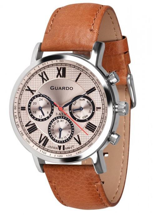 Годинник Guardo PREMIUM 11450 SSBr кварц.