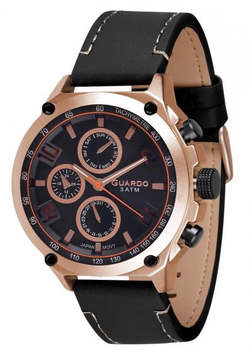 Часы Guardo PREMIUM 11446 RgBB  кварц.