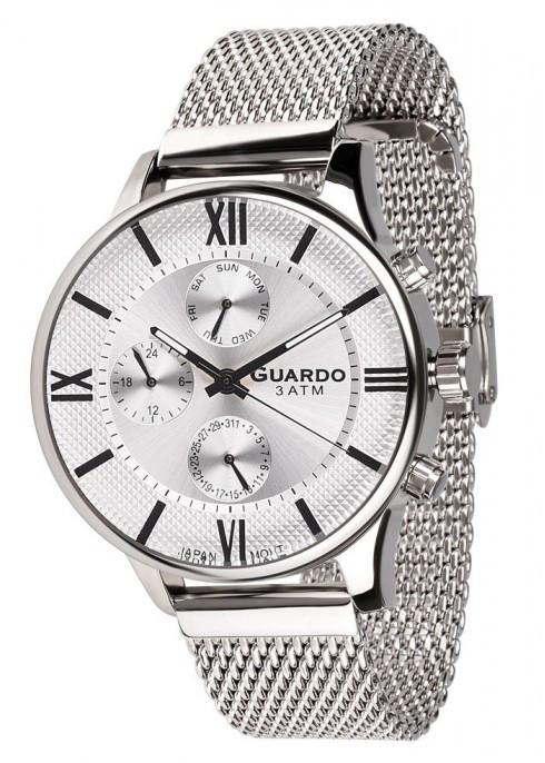 Часы Guardo PREMIUM 11419(m) SW  браслет V  кварц.