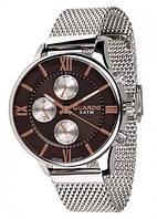 Часы Guardo PREMIUM 11419(m) SBr  браслет V  кварц.