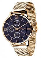 Часы Guardo PREMIUM 11419(m) GBl браслет V кварц.
