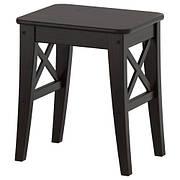 ИНГОЛЬФ Табурет, коричнево-чёрный 40248527 IKEA, ИКЕА, INGOLF
