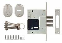 Корпус дополнительного сувальдного замка для металлической двери Siba 10057/L