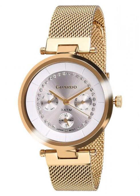 Часы Guardo PREMIUM 11405(m) GW  браслет V  кварц.