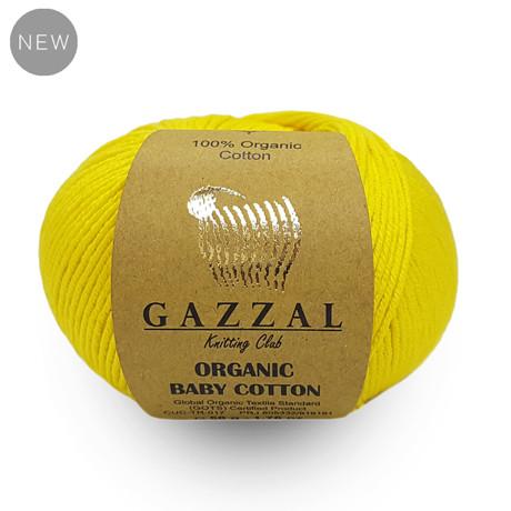 Gazzal Organic Baby Cotton / Органик бейби котон / 100% органический хлопок