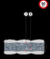 Тонкий матрас Велам Футон Бриз Лайт 120x200 см (41425)