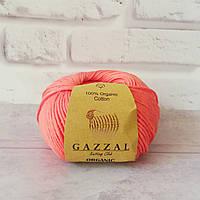 Gazzal Organic Baby Cotton № 419 коралловый