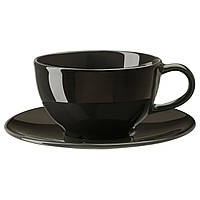 VARDAGEN Чашка для чая и блюдце, фото 1
