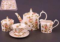 """Фарфоровый чайный сервиз """"Эмма"""" Lefard 586-028, фото 1"""