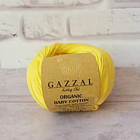 Gazzal Organic Cotton Baby № 420 жовтий, фото 1