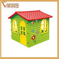 Детский игровой домик - котедж Mochtoys Garden house