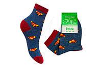 Детские носки хлопковые «Кузя Супермэн»