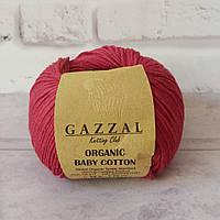Gazzal Organic Baby Cotton № 429 темно-красный