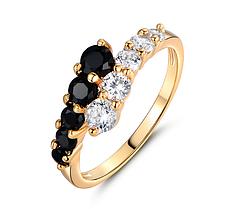 Кольцо с камнями бижутерия Каблучка