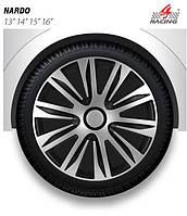 Колпаки Argo R16 NARDO silver black (серебр-черн), (ARGO)